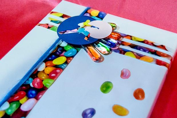 Jiu Jitsu Jelly Bean Loving Gift Wrapping