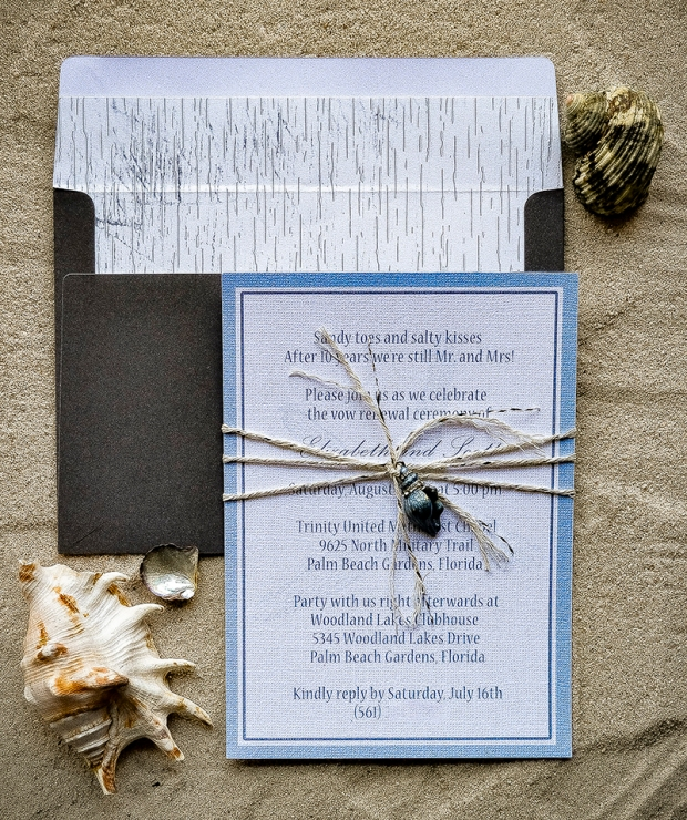Beach Invitation