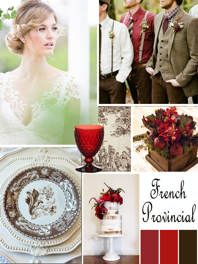 Wedding Mood Board: French Provincial injinnyous.com Atlanta event planner