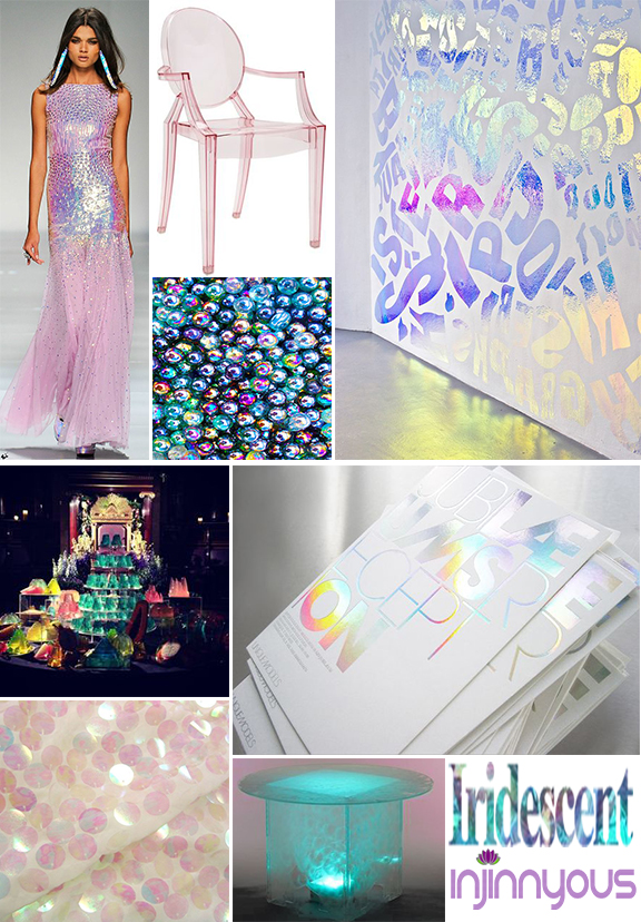 iridescent party jems and the holograms inspired party