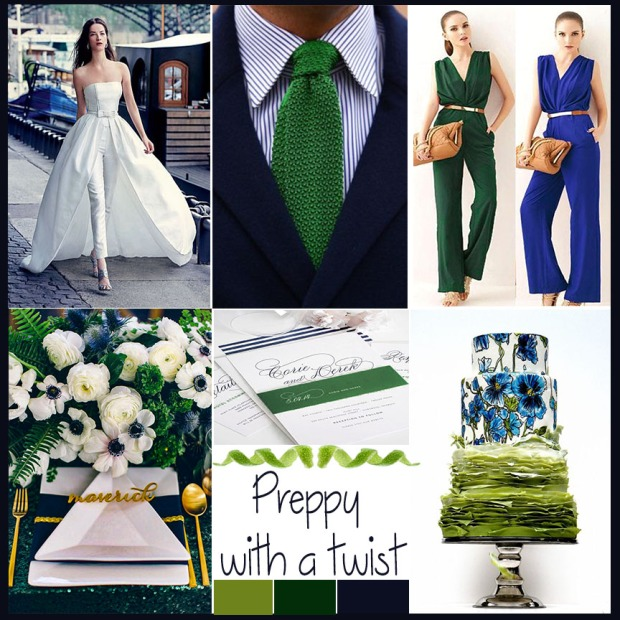 wedding mood board preppy with a twist atlanta event planner
