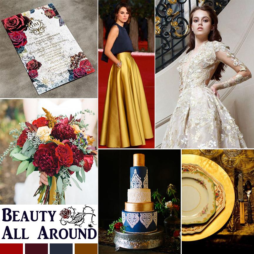 Beauty and the Beast Inspired Wedding Fairytale wedding by Atlanta wedding planner Injinnyous
