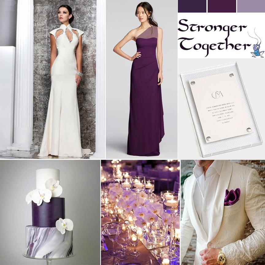 Disney Fairytale Wedding. Mulan inspired wedding by Atlanta event planner Injinnyous.